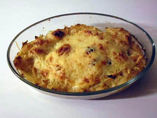recette de gratin au chou fleur pommes de terre et fromage raclette. Black Bedroom Furniture Sets. Home Design Ideas