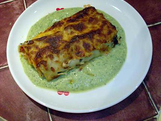 recette Cannellonis au saumon fumé et à la ricotta