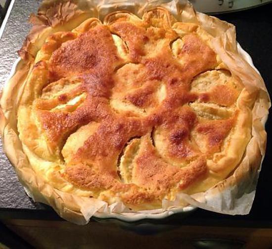 recette tarte amandine aux pommes