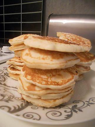 recette Pancakes sans oeufs