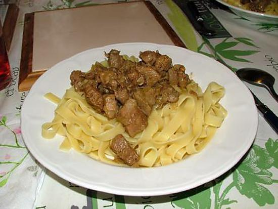recette Spezzatino di agnello alla romana ( ragoût d'agneau à la Romaine)