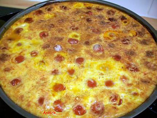Recette de Clafoutis aux tomates cerises