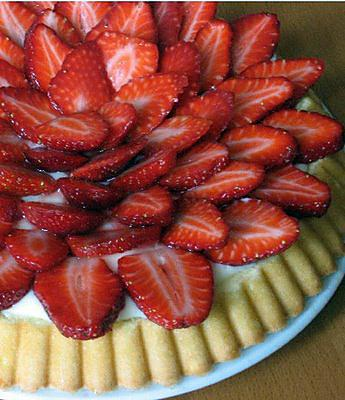 recette de tarte aux fraises la g noise. Black Bedroom Furniture Sets. Home Design Ideas