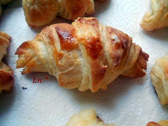 recette Croissants maison (premiers)