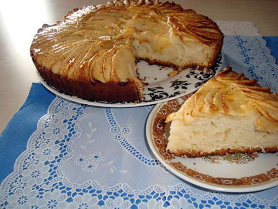 """recette Gateaux aux pommes """" ILHAM """""""