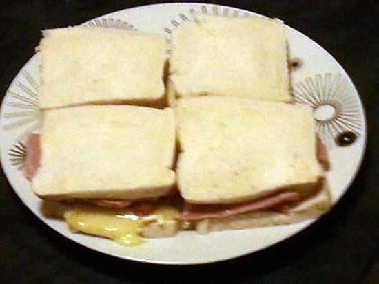 Recette de sandwich pain de mie fa on hot dog au camembert - Recette sandwich pain de mie ...