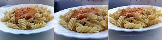 recette de pates aux crevettes et au curry