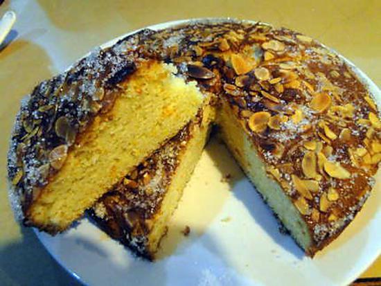 recette Gâteau mexicain orange,amandes