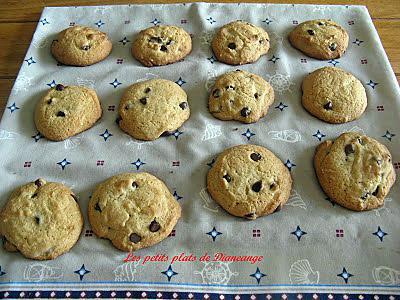 recette Biscuits aux grains de chocolat
