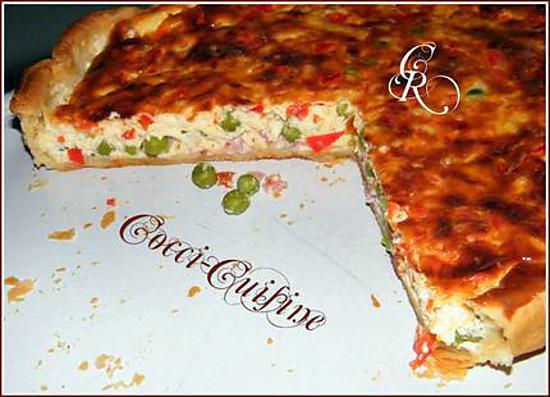 recette Quiche Carnaval  De Cathy. R