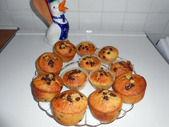 recette de muffins l 39 orange et au chocolat. Black Bedroom Furniture Sets. Home Design Ideas