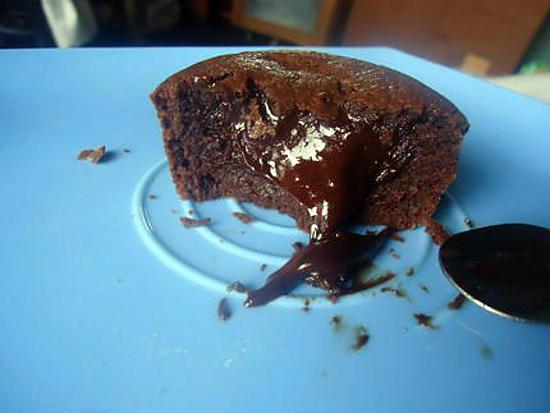 recette Fondant au chocolat (coeur coulant)