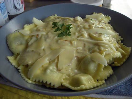 recette ravioli de boeuf sauce express