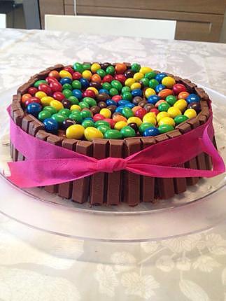 recette Gâteau d'anniversaire base chocolat