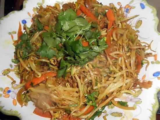 Recette de pousses de soja saut es - Cuisiner des pousses de soja ...