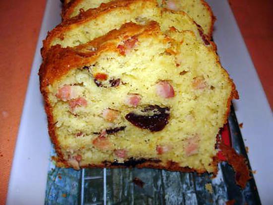 Recette Cake Sophie Pruneaux Lardons