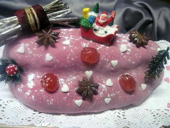 recette Bûche gâteau Alsacien.