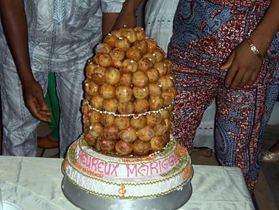 Recette de Gâteau de mariage de ma belle soeur 2 par sikirath