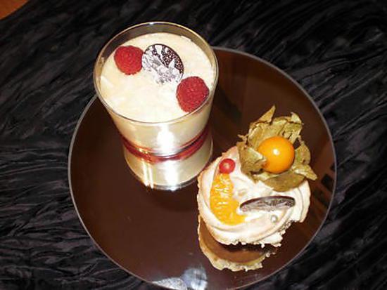 recette de desserts en habits de fete