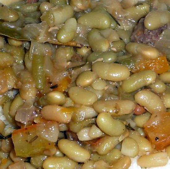 Recette de flageolets cuisin s - Cuisiner des flageolets ...