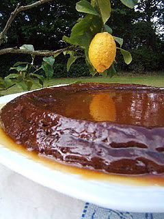 recette Gâteau au chocolat et caramel salé
