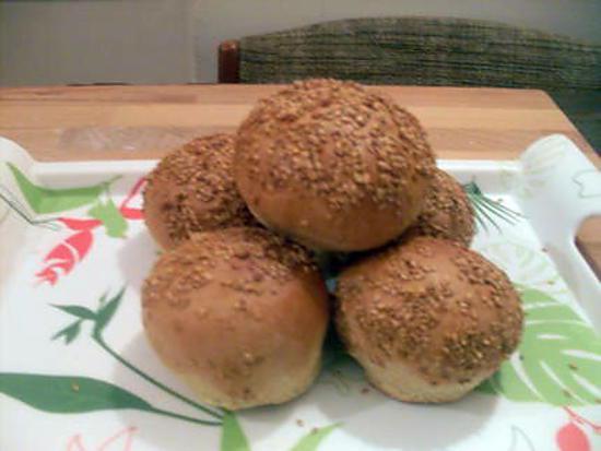 recette Recette pour pain burger