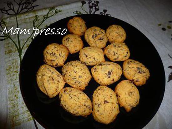 recette Cookies choloat noir sans gluten ni PLV