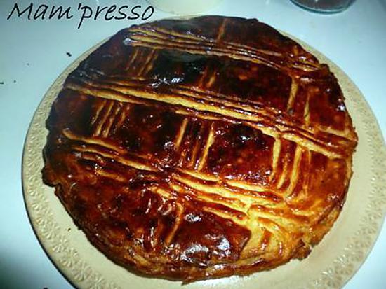 recette Galette des rois sans gluten ni plv