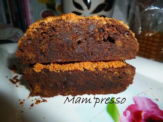 recette Brownie au spéculos