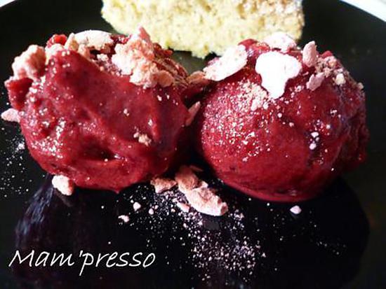 Recette de sorbet de fruits rouges sans sorbeti re - Recette yaourt glace sans sorbetiere ...