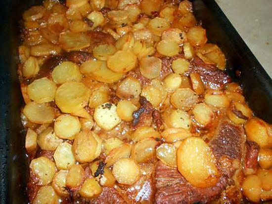Recette de tendron de veau aux pommes boulang res - Cuisiner tendron de veau ...
