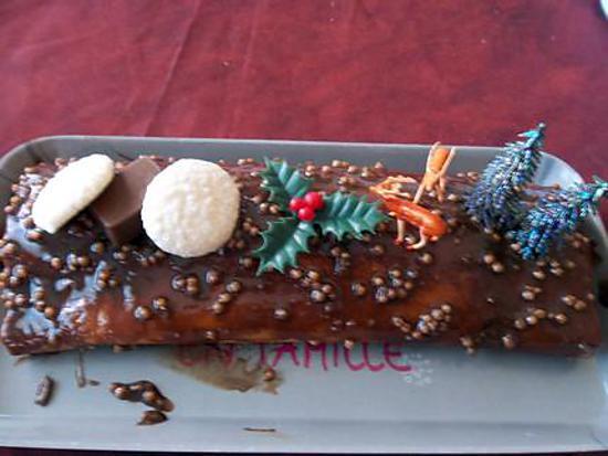 Recette De Buche Au Chocolat Et Caramel Beurre Sale