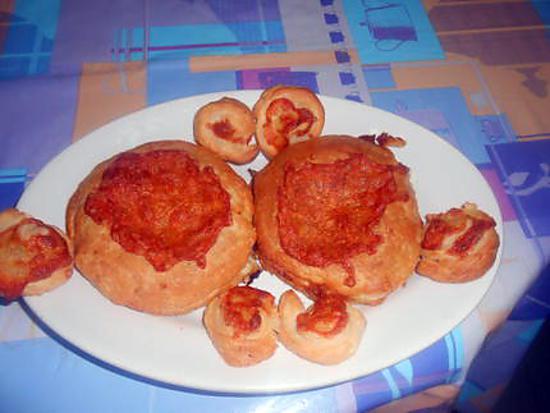 recette FEUILLETES  FRUTTI   DI  MARE  (FRUITS DE MER)