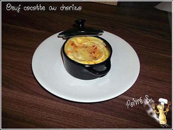 recette Oeuf cocotte au chorizo