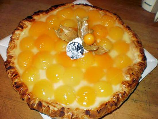 recette tartes aux abricots d'hivert