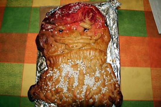 recette Brioche a l occasion du Pere Noel