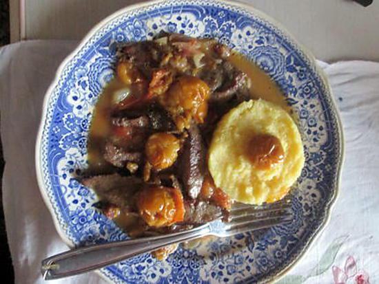 Recette de foie de veau aux mirabelles - Recette foie de veau poele ...
