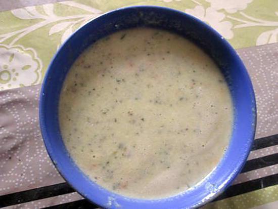 recette potage courgettes au basilic ,,,,,,,,,,,,,, vu sur  e santé .fr