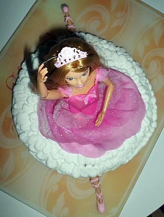Recette de g teau d 39 anniversaire barbie danseuse etoile - Barbi danseuse etoile ...