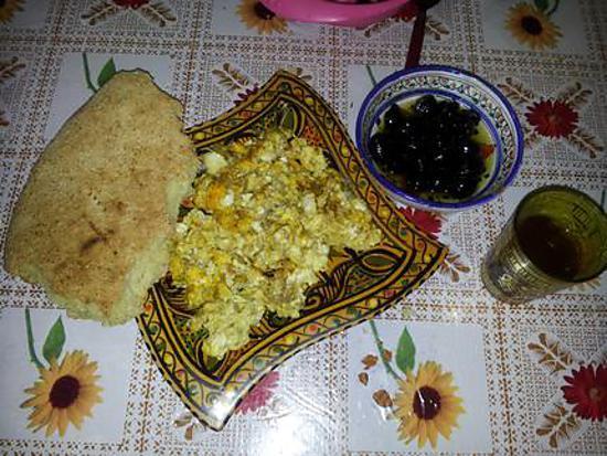 recette PETIT gouter ou petit dejeuner marocain