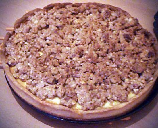 Gateau streusel aux pommes et aux noix meilleur travail des chefs populaires - Gateau aux noix et pommes ...