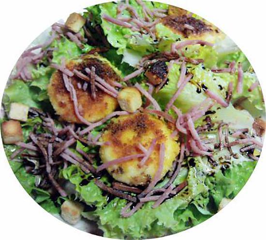 Recette de salade de babybel pan s parfait pour un petit for Repas du soir original