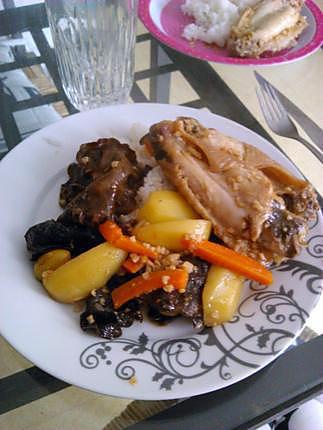 recette Dinde a la chinoise