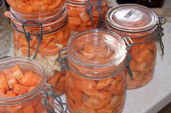 Recette avec carottes en conserve po le cuisine inox - Comment cuisiner des petit pois en boite ...