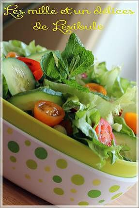 Recette de salade verte - Salade verte calorie ...