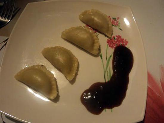 recette Gyozas  au crevette (raviolis japonais )