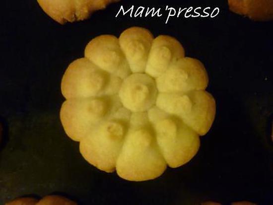 recette Sablés au presse-biscuit