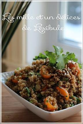 recette ~Salade de quinoa à l'asiatique~