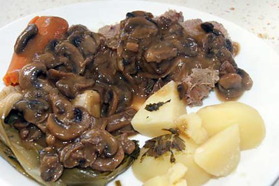 recette Langue de veau sauce Madère