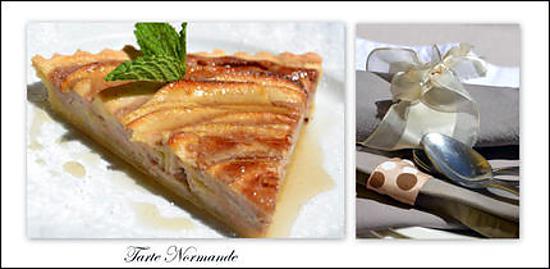 recette de tarte normande aux pommes par patricia richer. Black Bedroom Furniture Sets. Home Design Ideas